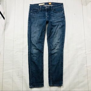 Pilcro Stet Anthropologie skinny ankle jeans 29